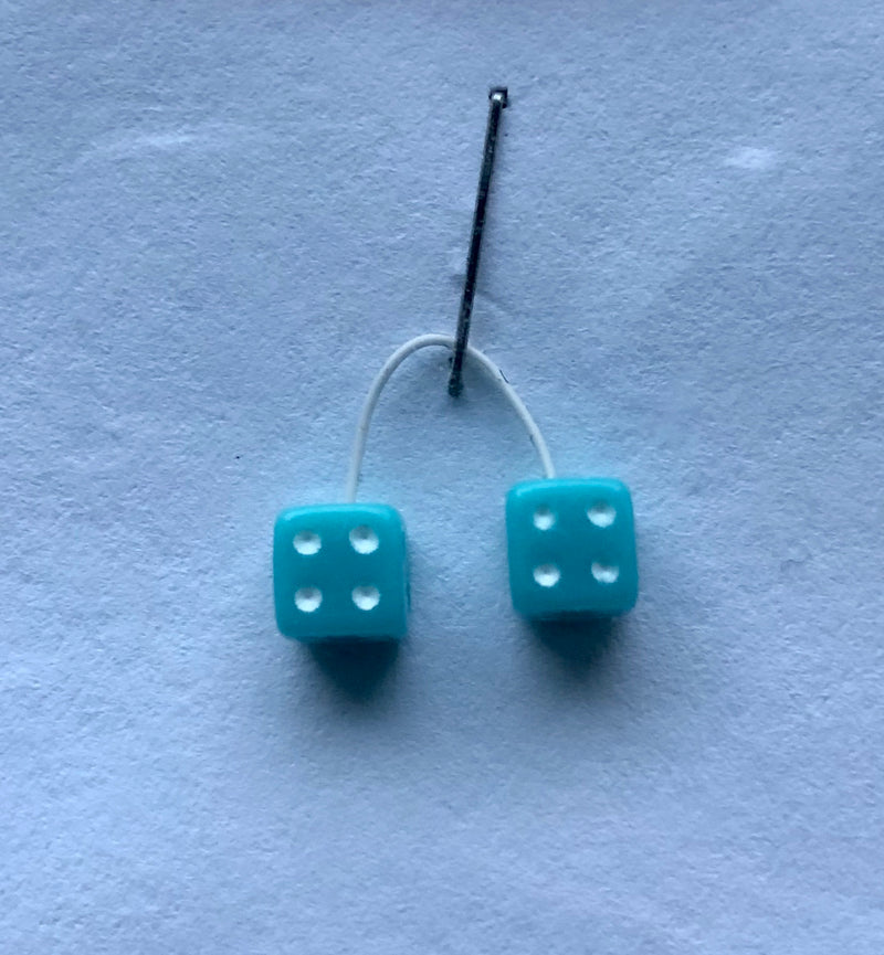 KEN-D6 Ken's Kustom Light Blue Dice
