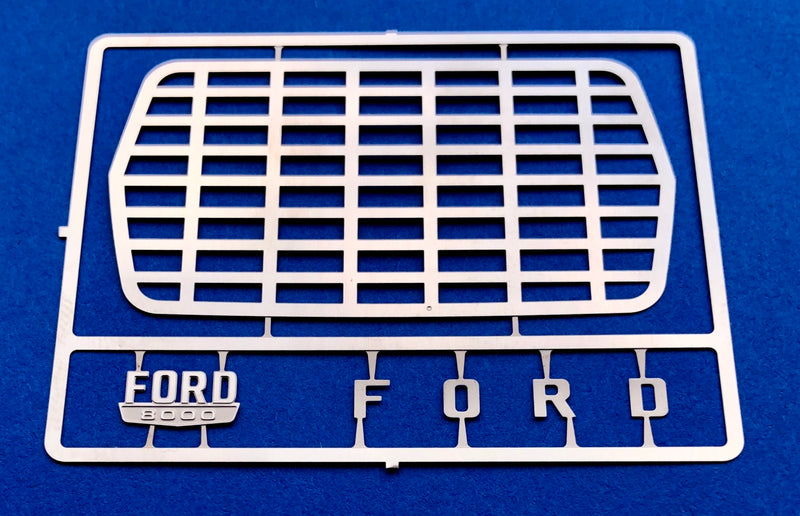 DM-2593 Ford Short Hauler Grille w/ Side Emblem