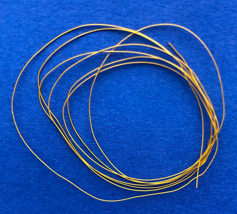 DM-1104 Yellow Detail Wire .0075 2ft