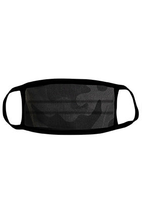 Sportsman Comfort / Style Face Mask Black Camo