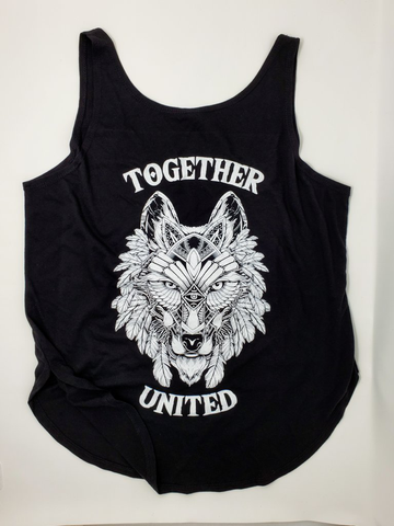 Together United Womens Flowy Tank