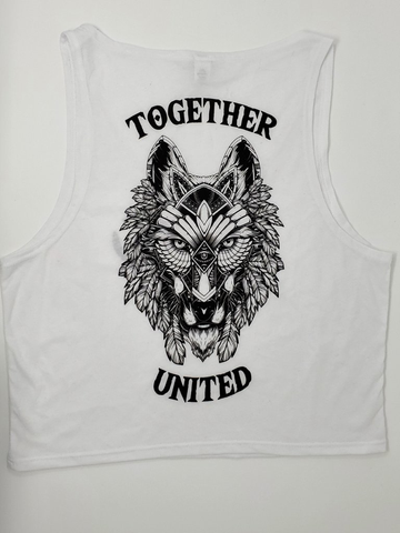 Together United Crop Top