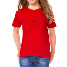 Load image into Gallery viewer, RIC MILANO PRINTED T-shirt Red