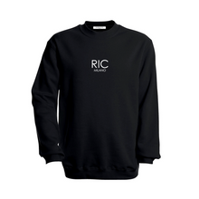 Load image into Gallery viewer, RIC MILANO EMBROIDERED Sweatshirt Black