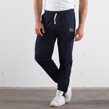 Load image into Gallery viewer, RIC MILANO EMBROIDERED Joggers Blue