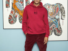 Load image into Gallery viewer, RIC MILANO EMBROIDERED Hoodie Red
