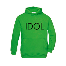 Load image into Gallery viewer, IDOL PRINTED Hoodie Green