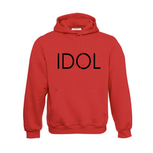 Load image into Gallery viewer, IDOL PRINTED Hoodie Red