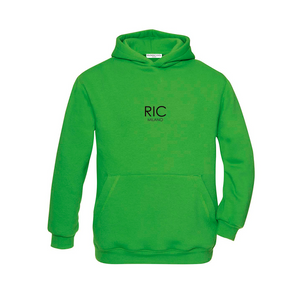 RIC MILANO EMBROIDERED Hoodie Green