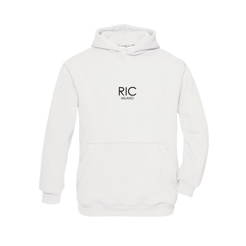 RIC MILANO EMBROIDERED Hoodie White