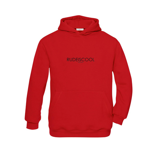 RUDEISCOOL EMBROIDERED Hoodie Red