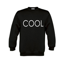 Load image into Gallery viewer, COOL PRINTED Sweatshirt Black