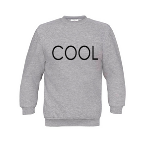COOL PRINTED Sweatshirt Grey
