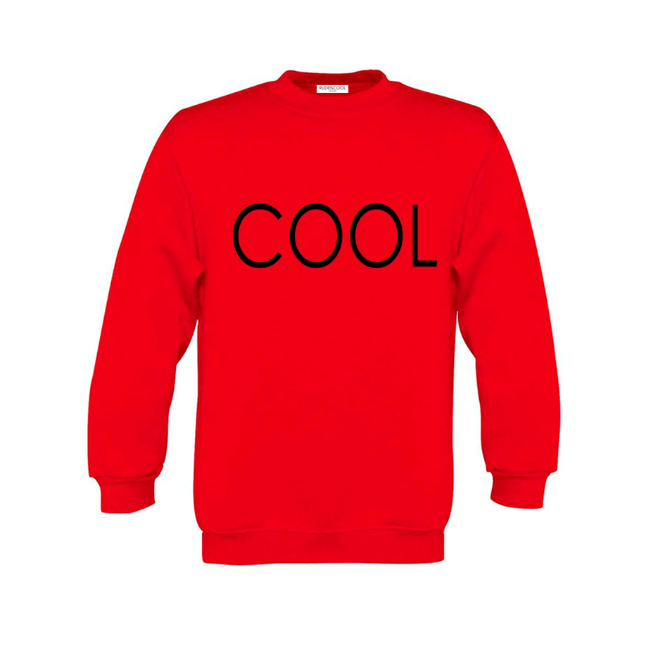 COOL PRINTED Sweatshirt Red
