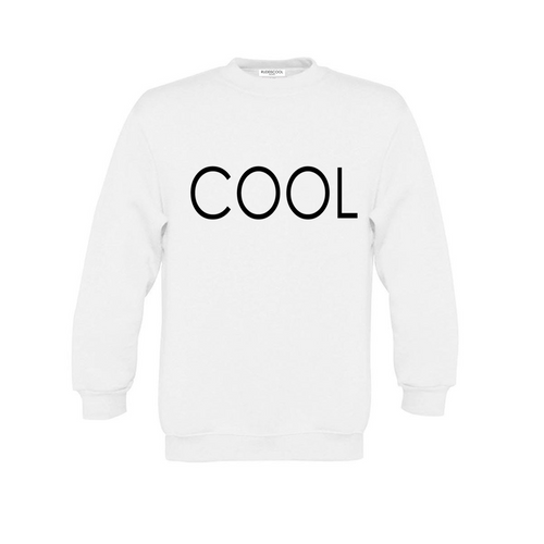 COOL PRINTED Sweatshirt White