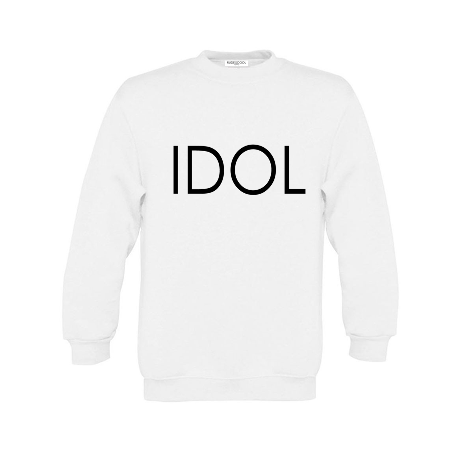 IDOL PRINTED Sweatshirt White
