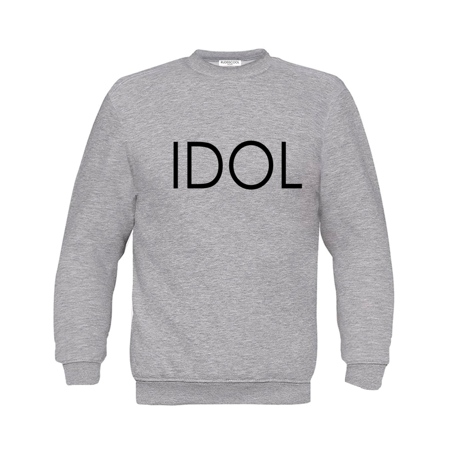 IDOL PRINTED Sweatshirt Grey