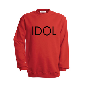 IDOL PRINTED Sweatshirt Red