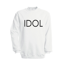 Load image into Gallery viewer, IDOL PRINTED Sweatshirt White