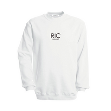 Load image into Gallery viewer, RIC MILANO EMBROIDERED Sweatshirt White