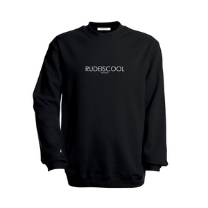 RUDEISCOOL EMBROIDERED Sweatshirt Black