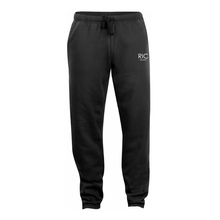 Load image into Gallery viewer, RIC MILANO EMBROIDERED Joggers Black