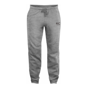 RIC MILANO EMBROIDERED Joggers Grey