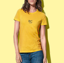 Load image into Gallery viewer, RIC MILANO PRINTED T-shirt Yellow