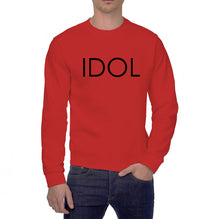 Load image into Gallery viewer, IDOL PRINTED Sweatshirt Red