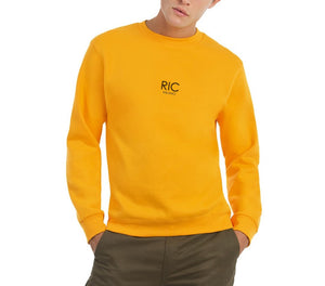 RIC MILANO EMBROIDERED Sweatshirt Yellow