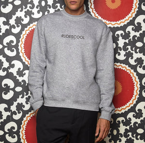 RUDEISCOOL EMBROIDERED Sweatshirt Grey