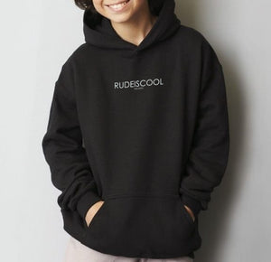 RUDEISCOOL EMBROIDERED Hoodie Black