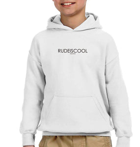 RUDEISCOOL EMBROIDERED Hoodie White