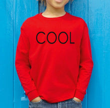 Load image into Gallery viewer, COOL PRINTED Sweatshirt Red