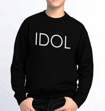 Load image into Gallery viewer, IDOL PRINTED Sweatshirt Black
