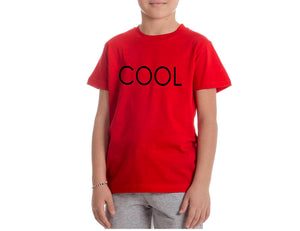 COOL PRINTED T-shirt Red