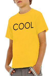 COOL PRINTED T-shirt Yellow