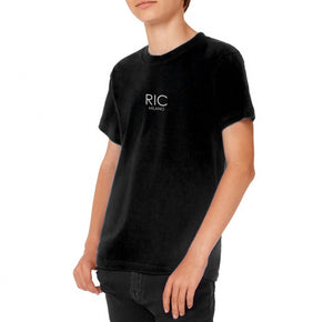 RIC MILANO PRINTED T-shirt Black