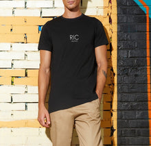 Load image into Gallery viewer, RIC MILANO PRINTED T-shirt Black