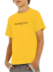 RUDEISCOOL PRINTED T-shirt Yellow