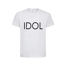Load image into Gallery viewer, IDOL PRINTED T-shirt White
