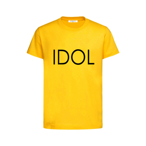 IDOL PRINTED T-shirt Yellow
