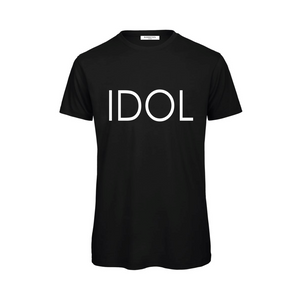 IDOL PRINTED T-shirt Black