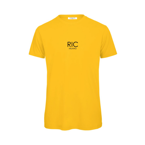 RIC MILANO PRINTED T-shirt Yellow