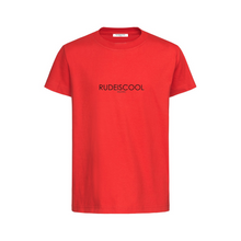Load image into Gallery viewer, RUDEISCOOL PRINTED T-shirt Red