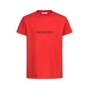 RUDEISCOOL PRINTED T-shirt Red