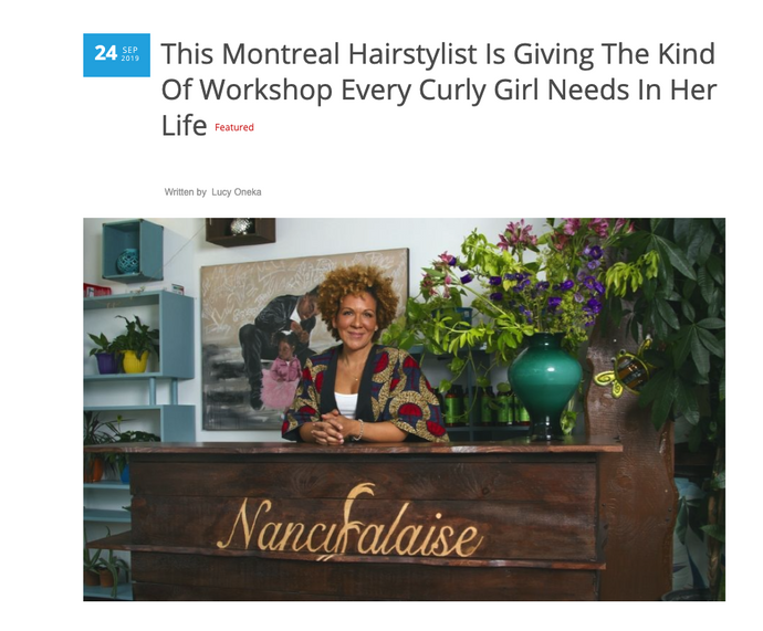 This Montreal Hairstylist Is Giving The Kind Of Workshop Every Curly Girl Needs In Her Life