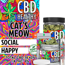 Load image into Gallery viewer, Premium Hemp Flower Cat's Meow