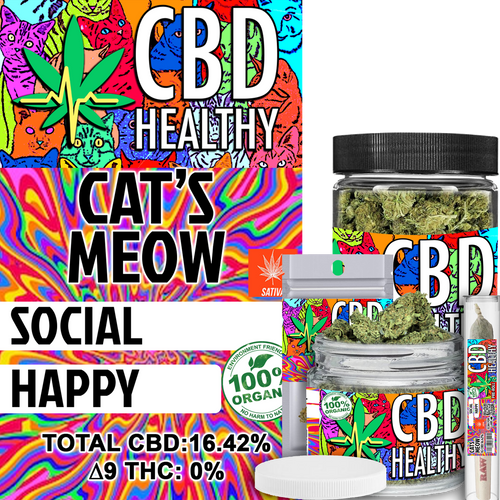 Premium Hemp Flower Cat's Meow