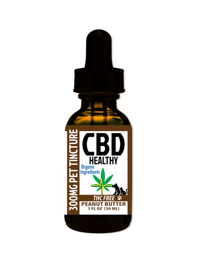 Pet CBD Tincture 300MG Peanut Butter